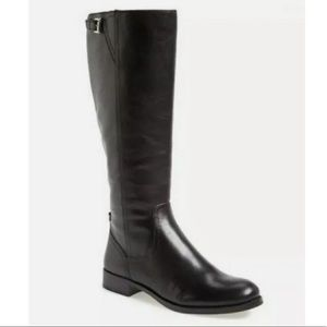 Coach Mirriam Leather Tall knee boots black 8.5